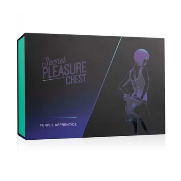 Secret Pleasure Chest Purple Apprentice BDSM SM Verpakking Bondage