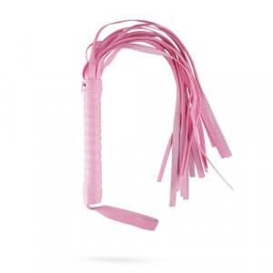 Secret Pleasure Chest Pink Pleasure Zweep Flogger