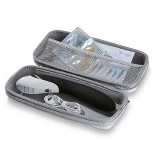 Tickling Truman E-Stim Vibrator - Black Edition Verpakking Open