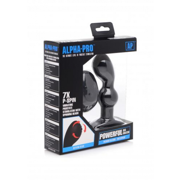 P-Spin prostaat Vibrator Met Roterende Kralen Verpakking