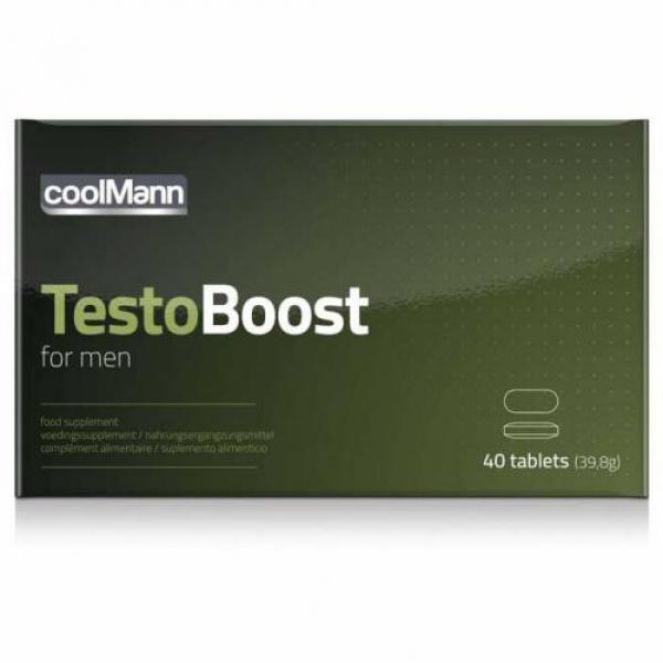 CoolMann Testoboost - 40 stuks - Coolmann