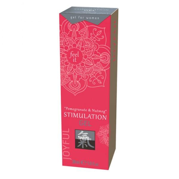 Stimulation Gel - Pomegranate & Nutmeg - Shiatsu