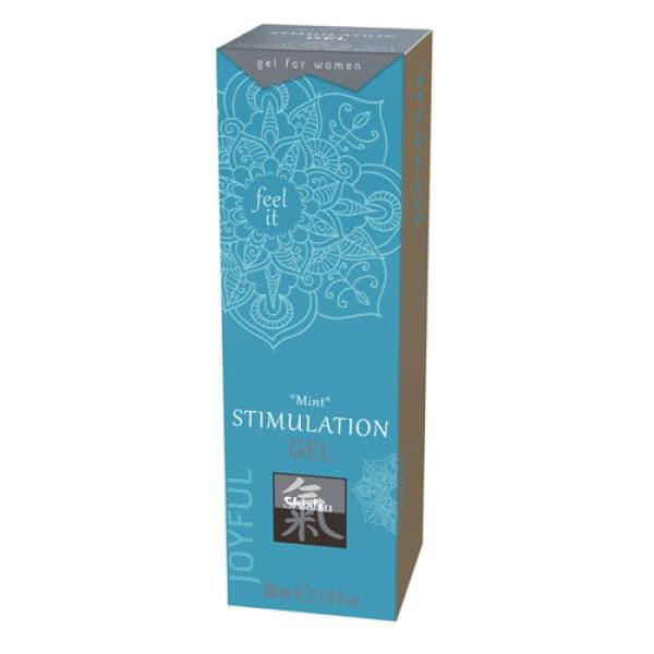 Stimulerende Gel - Mint - Shiatsu