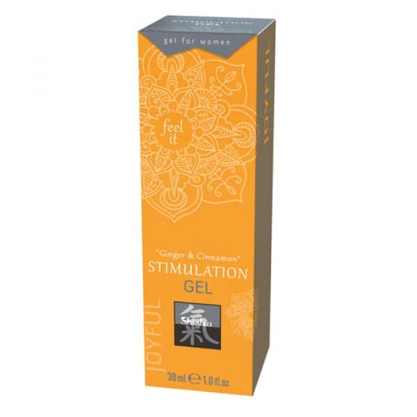 Stimulation Gel - Ginger & Kaneel - Shiatsu