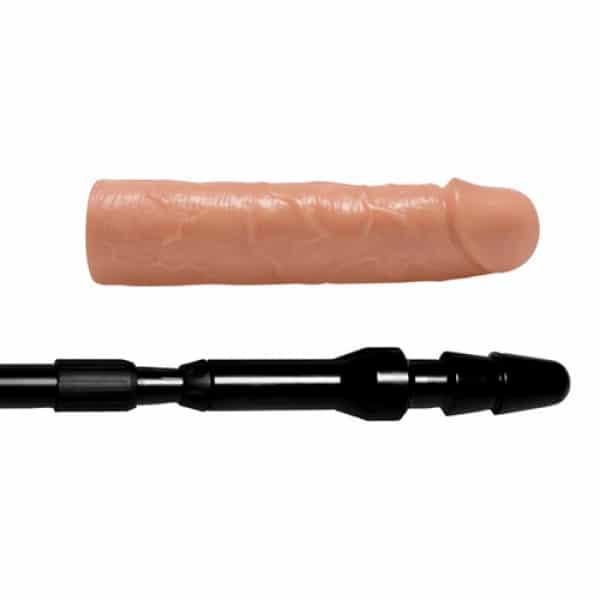 Dick Stick Uitschuifbare Stok Met Dildo - Master Series