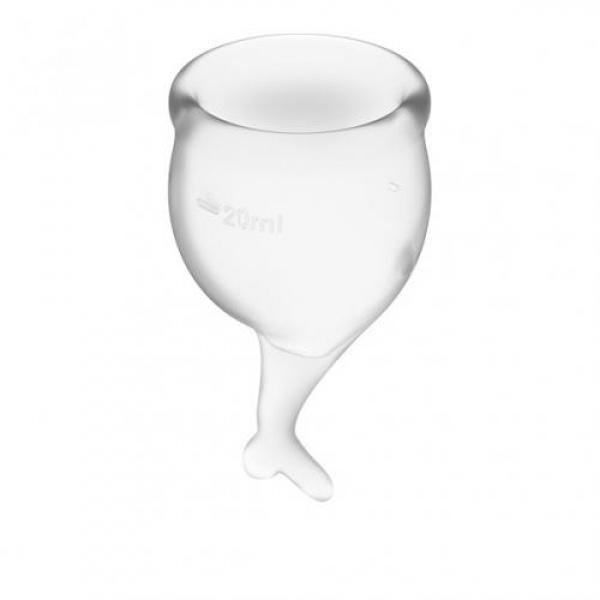 Satisfyer Feel Secure Menstruatie Cup Set - Transparant - Satisfyer
