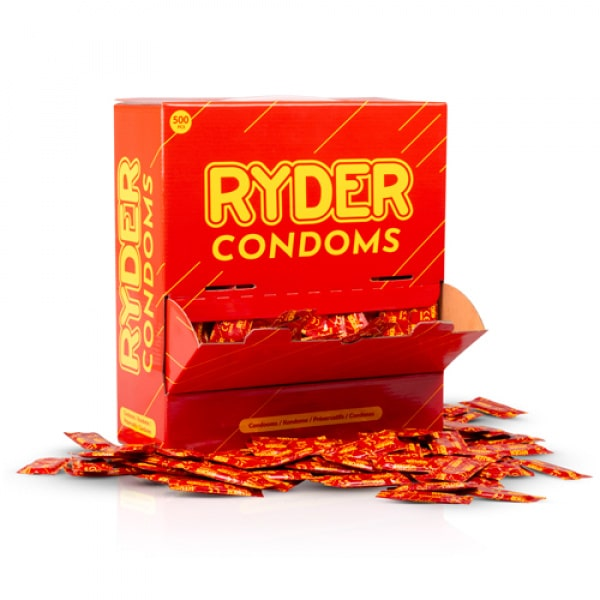Ryder Condooms - 500 Stuks - Ryder