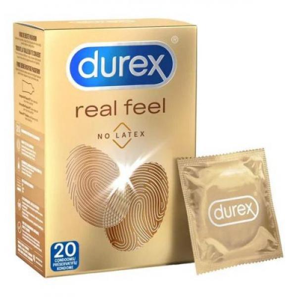Durex Real Feel Condooms - 20 st. - Durex